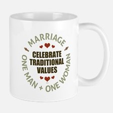 Celebrate Traditional Values Mug