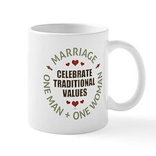 Celebrate Traditional Values Small Mugs