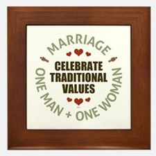 Marriage Framed Art Tiles