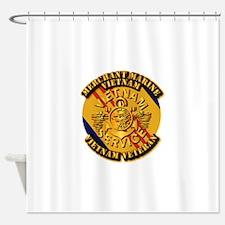 USMM - Merchant Marine - Vietnam Vet Shower Curtai