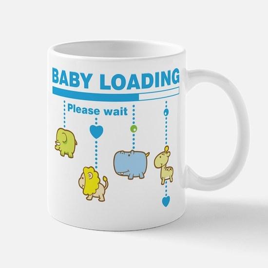 Baby boy loading Mug