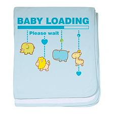 Baby boy loading baby blanket