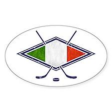 hockey su Ghiaccio Italiano Flag Decal