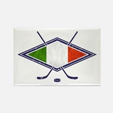 hockey su Ghiaccio Italiano Flag Rectangle Magnet