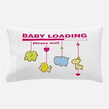 Baby girl loading Pillow Case