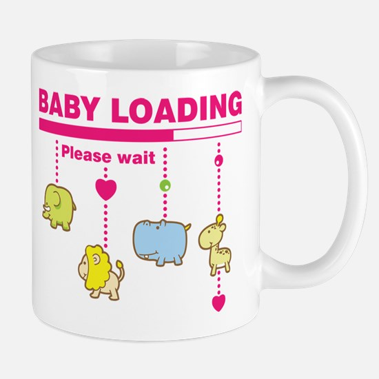 Baby girl loading Mug