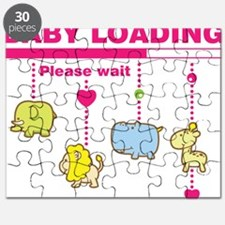Baby girl loading Puzzle