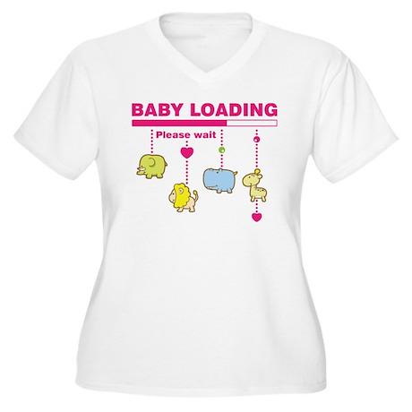 Baby girl loading Plus Size T-Shirt
