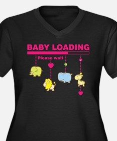 Baby girl loading Plus Size T-Shirt