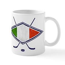 hockey su Ghiaccio Italiano Flag Mug