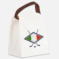 hockey su Ghiaccio Italiano Flag Canvas Lunch Bag