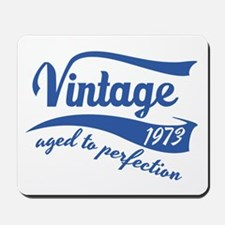 Vintage 1973 aged to perfection birthday design Mo
