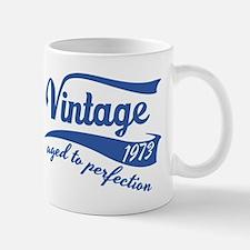 Vintage 1973 aged to perfection birthday design Mu