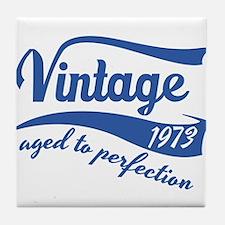 Vintage 1973 aged to perfection birthday design Ti
