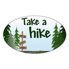 Take a hike Decal