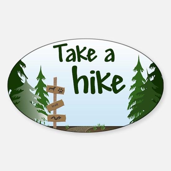 Take a hike Decal