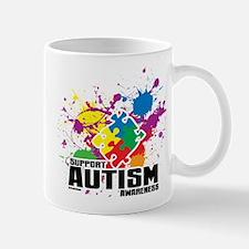 Autism Paint Splatter Mug