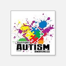 Autism Paint Splatter Sticker
