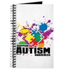 Autism Paint Splatter Journal