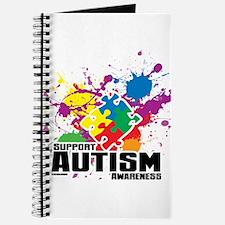 Autism Paint Splatter Journal