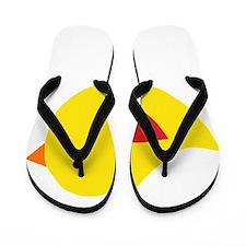 Sweet Yellow Bird Flip Flops