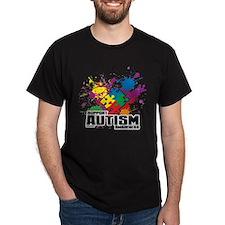 Autism Paint Splatter T-Shirt