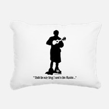 Only Need This Uke Rectangular Canvas Pillow