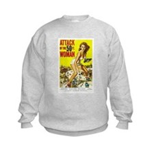 Attack of the 50 Foot Woman Poster Sweatshirt