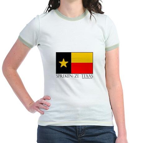 German Spreken Ze Texas Jr. Ringer T-Shirt