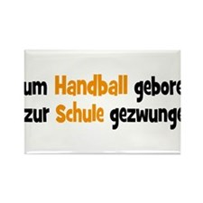 Handball Rectangle Magnet