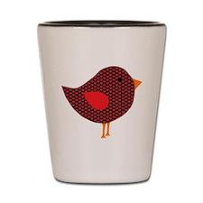 Love Bird Shot Glass