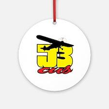 J-3 CUB Ornament (Round)