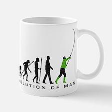 evolution of man fisherman Tasse