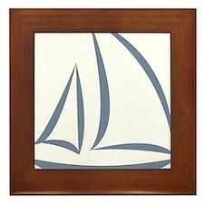 segeln Framed Tile