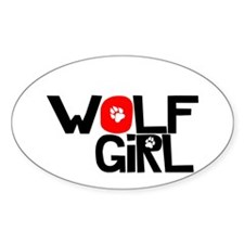 Wolf Girl - Decal