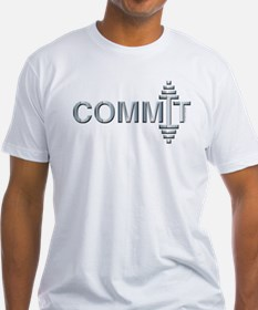 COMMIT - Fit Metal Designs Shirt
