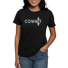 COMMIT - Fit Metal Designs Tee