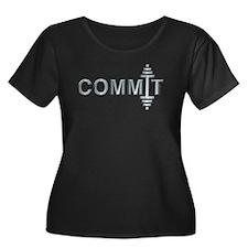 COMMIT - Fit Metal Designs T