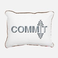 COMMIT - Fit Metal Designs Rectangular Canvas Pill