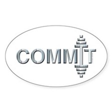 COMMIT - Fit Metal Designs Decal