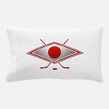 Japanese Ice Hockey Flag Pillow Case