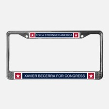 Elect Xavier Becerra License Plate Frame