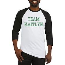 TEAM KAITLYN  Baseball Jersey