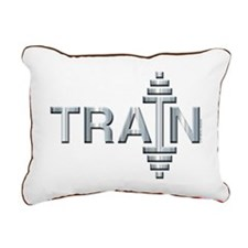 TRAIN -- Fit Metal Designs Rectangular Canvas Pill