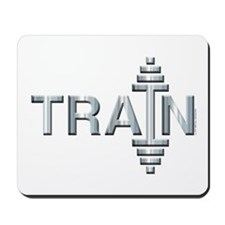 TRAIN -- Fit Metal Designs Mousepad