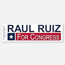 Elect Raul Ruiz Sticker (Bumper)