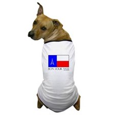 France Bon Jour Ya'll Dog T-Shirt