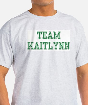TEAM KAITLYNN  Ash Grey T-Shirt