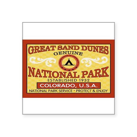 Great Sand Dunes NationalParkRectangle Sticker