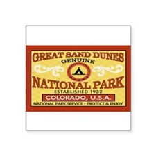 Great Sand Dunes NationalParkRectangle Sticker